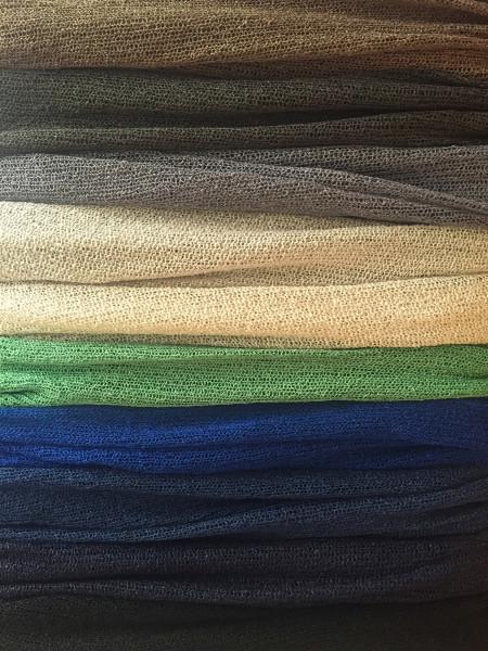 袖付きストールの色バリエーション