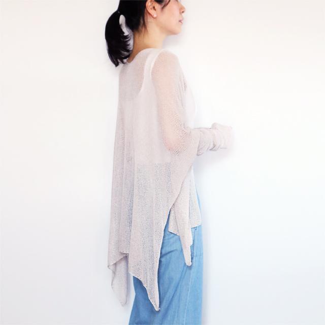 Alwaid[アルワイド] オールカバー袖付きストール / アイシー・グレー