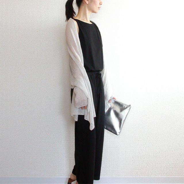 Rigel[リゲル] 袖付きストール / アイシー・グレー
