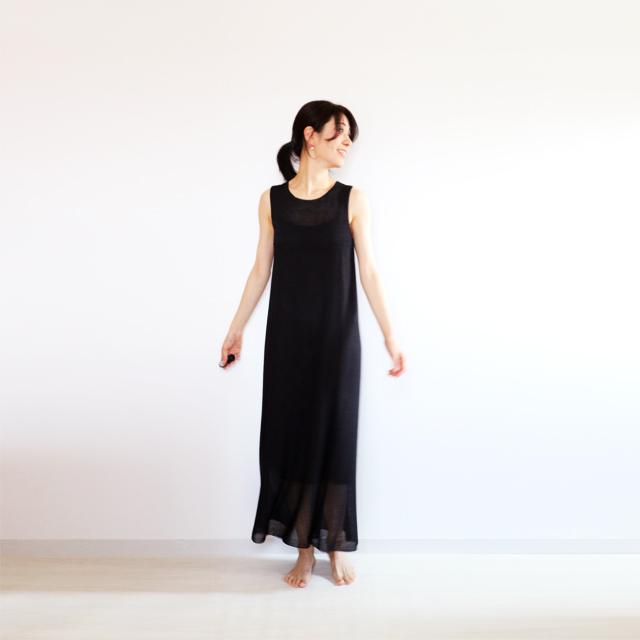 Syrma[シュルマ] マキシ・ワンピース / ブラック