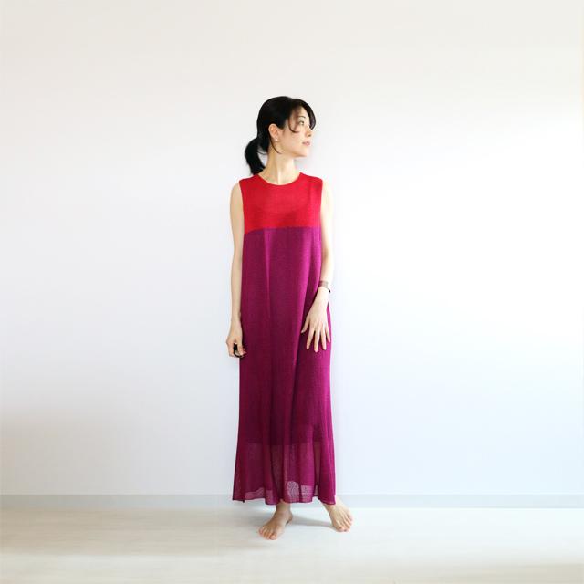 Syrma[シュルマ] マキシ・ワンピース / ピンク系1