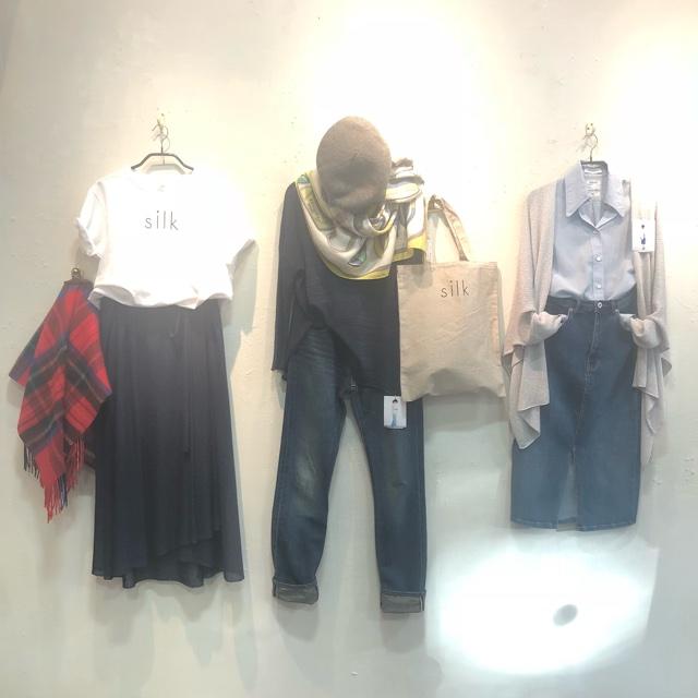 silkpiece POP UP SHOP ザ・ギャラリー文京 石と絹