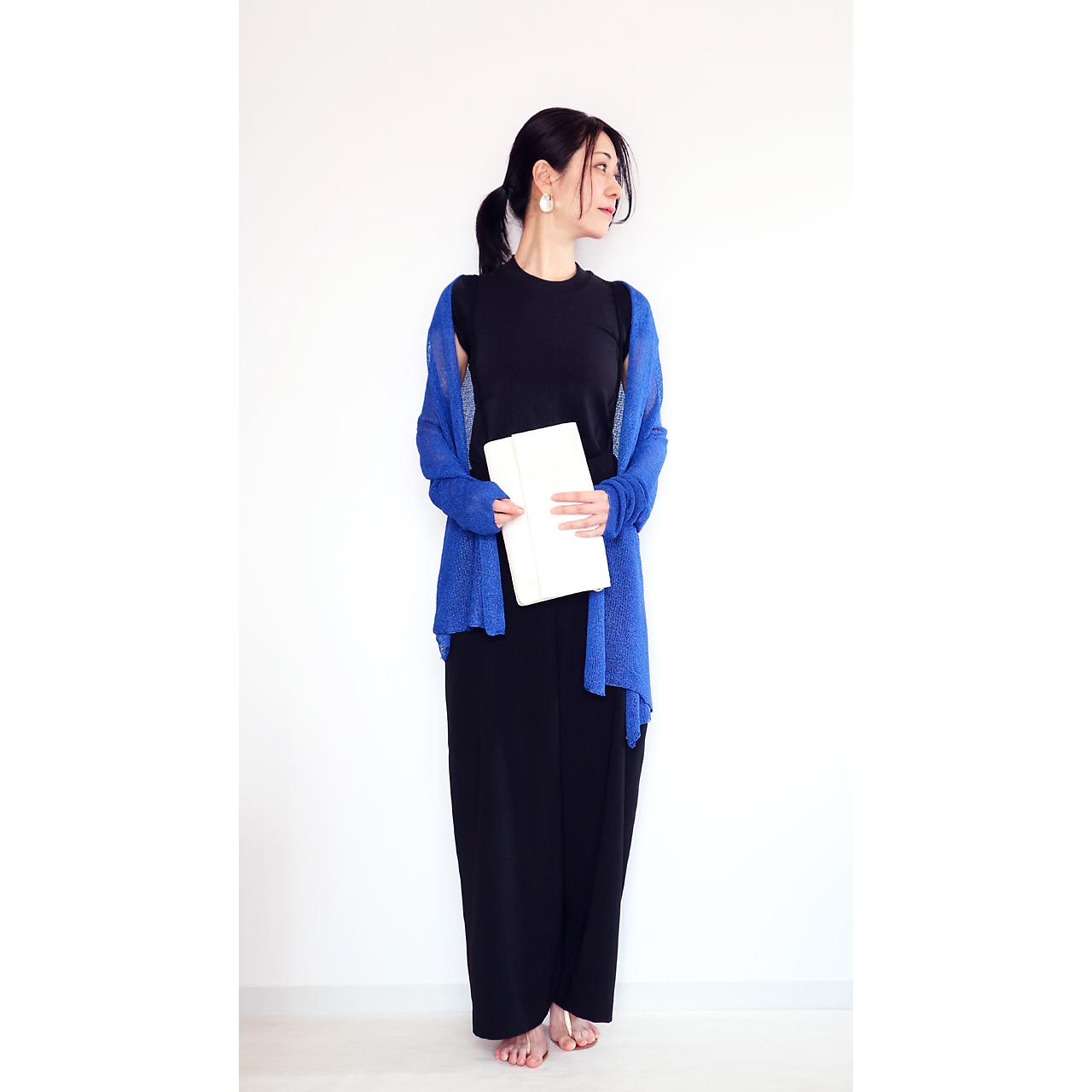 Rigel[リゲル] 袖付きストール / ロイヤル・ブルー