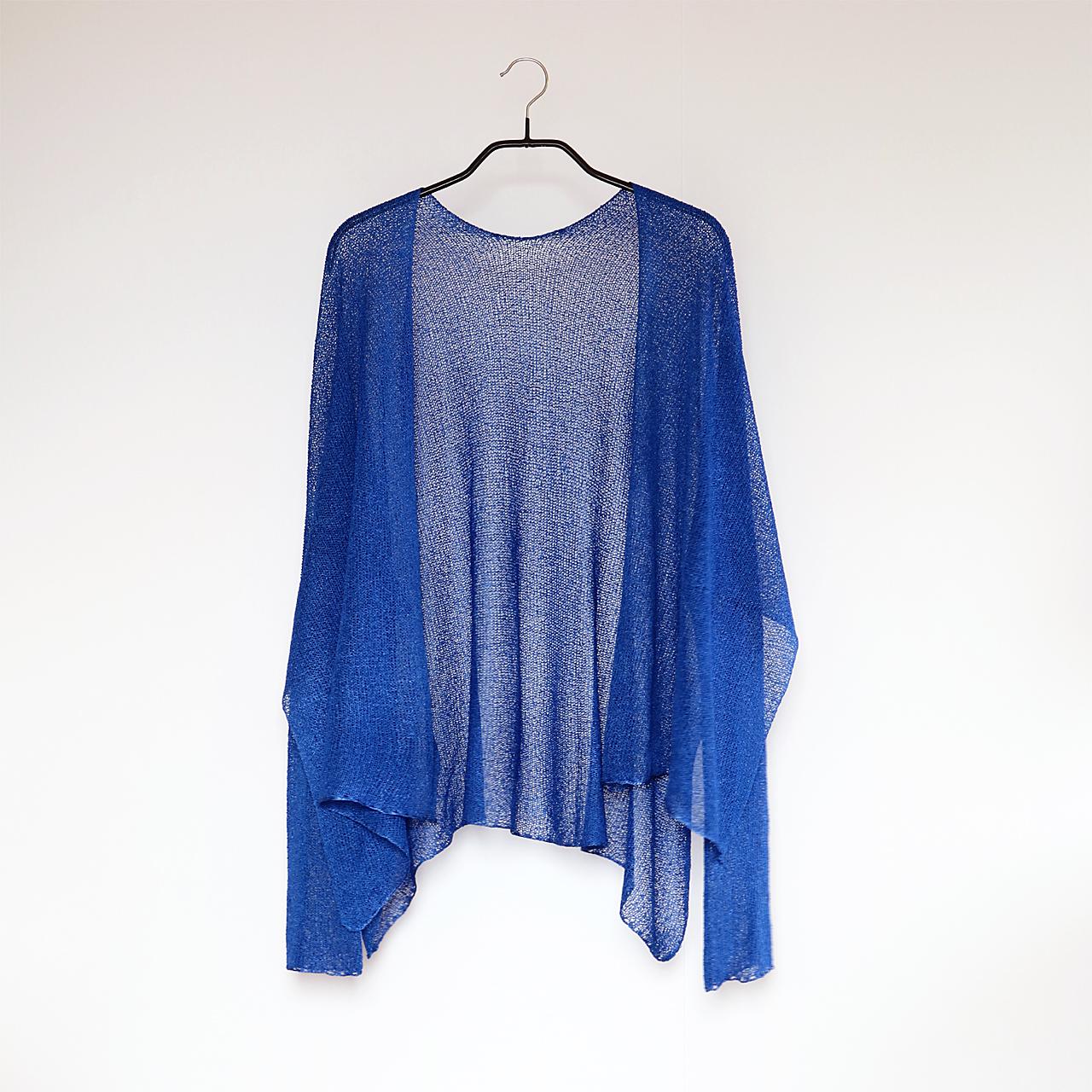 Alwaid[アルワイド] オールカバー袖付きストール / ロイヤル・ブルー