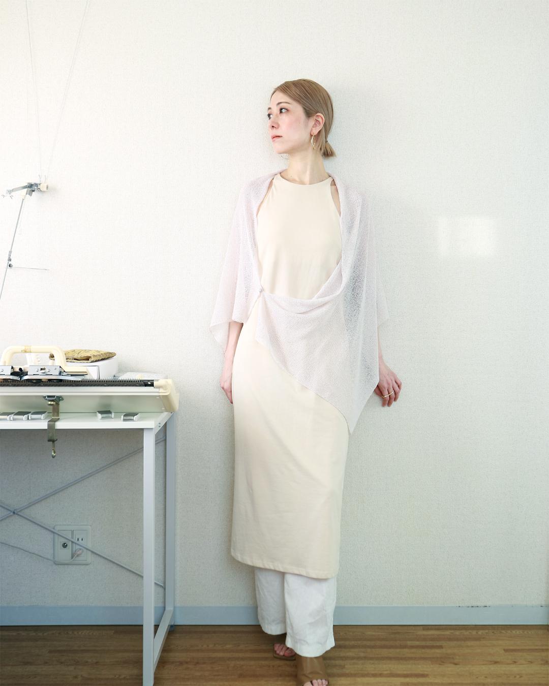 Ara[アラ] エアリー・ストール / ビーチサンド・ベージュ