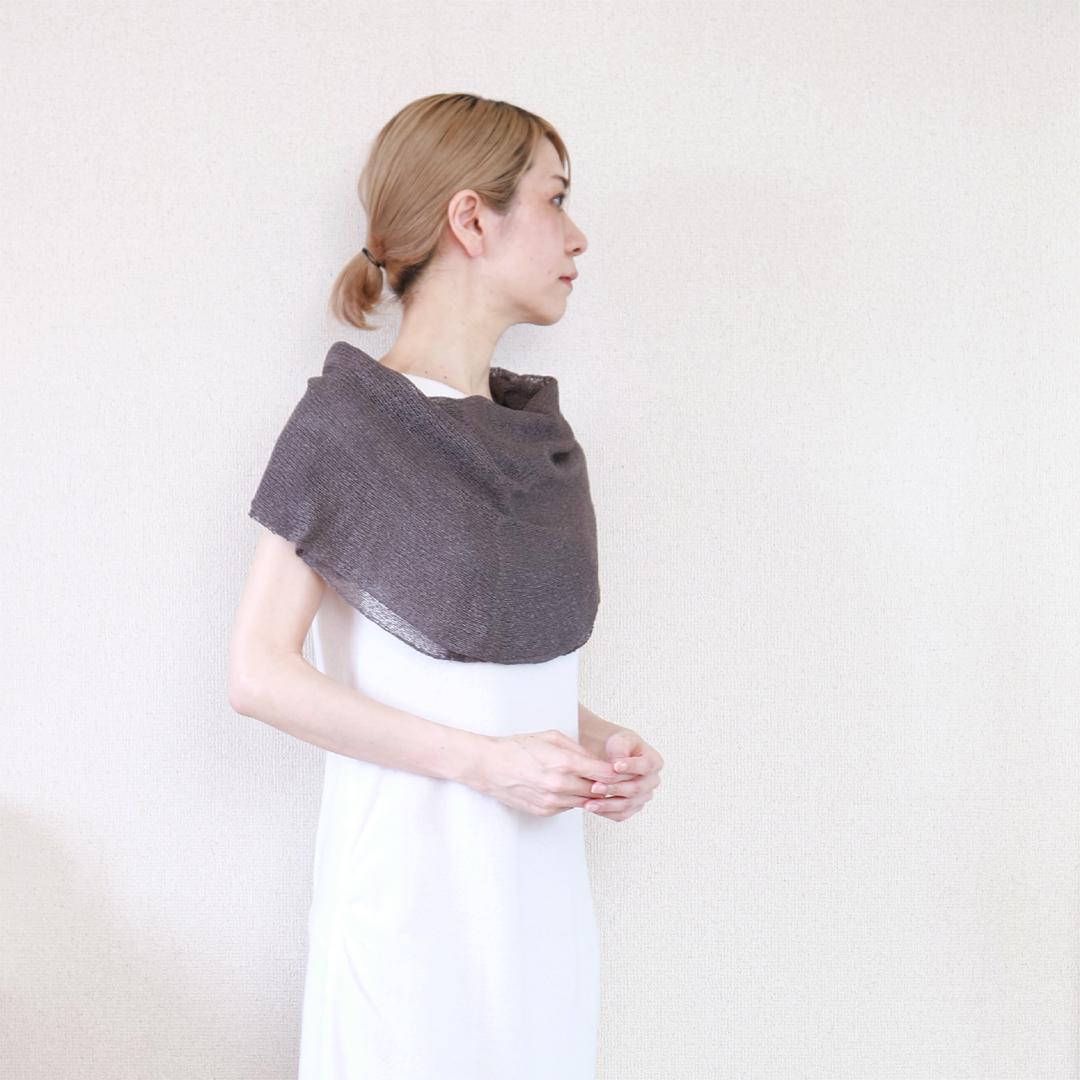 Rubidea[ルビデア] スヌード・ケープ3 / ディープフォレスト・グレー
