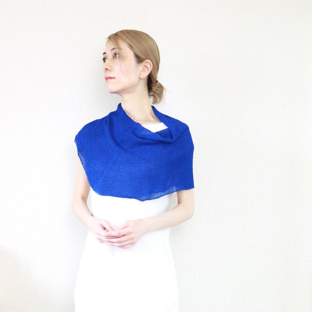 Rubidea[ルビデア] スヌード・ケープ3 / ロイヤル・ブルー